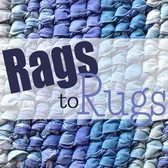 In 2010, I wrote up instructions and took pictures of how I make a rug for  a series on Day to Day Adventures. That series has been extremely popular  So I took all the posts in that series plus some new information and Rags  to Rugswas born.  I've added more details and even filmed a video
