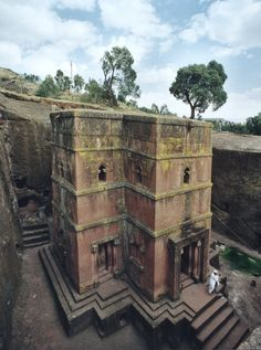 Bete Giorgis underground church in Lalibela