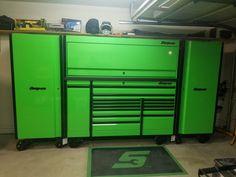 Tool Box Storage, Garage Organization, Garage Storage, Organization Ideas, Shop Tool Boxes, Rolling Tool Box, Structured Wiring, Tool Drawers, Mobile Workbench