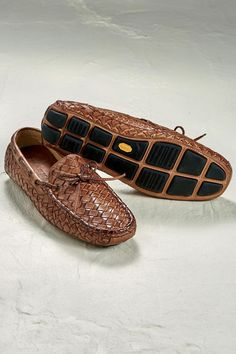 Riddick Leather Driving Moccasins from Trask™