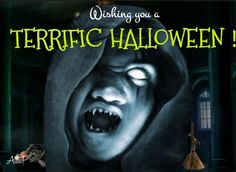 Dare to enter this terrific haunted house for some spine-chilling & thrilling experience! Happy Halloween !!