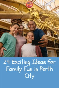 Visit Perth city this April for a school holiday experience that you'll enjoy as much as the kids do! A day out in the City of Perth is full of exciting opportunities, all within a short walk, or free CAT bus ride away. There are lots of new attractions to enjoy, as well as plenty of free fun for all the family – making for a PERTHfect day out in the CBD. #perth #perthkids Cats Bus, Bus Ride, Free Cat, School Holidays, Days Out, Perth, Dinosaurs, Attraction, City