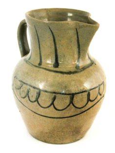 Fine stoneware pitcher : Lot 57