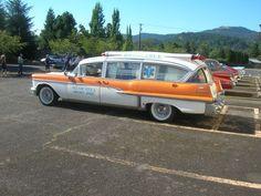 Found on Craiglist: 1957 Cadillac Superior Rescuer Ambulance