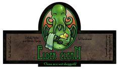 Elder Clean Soap Label by `ursulav on deviantART