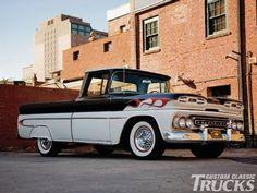 '61 Chevrolet Apache in Custom Classic Trucks Magazine