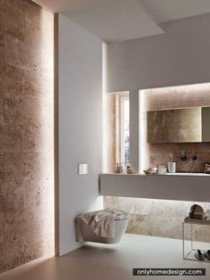 Travertine Bathrooms - http://www.onlyhomedesign.com/home-design-ideas/travertine-bathrooms.html
