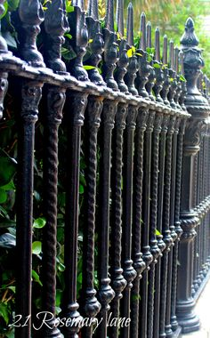 iron work in Charleston, SC Charleston Style, Charleston Homes, Charleston South Carolina, Simply Beautiful, Beautiful Places, Furniture Projects, Diy Projects, Wrought Iron Gates, Iron Work