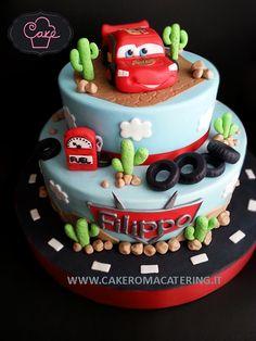 Car's- Saetta Mc Queen Cake