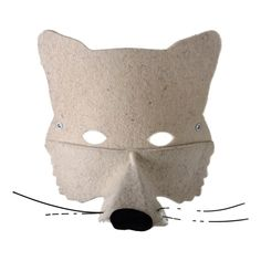 Felt Wolf Mask Frida's Tierchen Teen Children- A large selection of Toys and Hobbies on Smallable, the Family Concept Store - More than 600 brands.