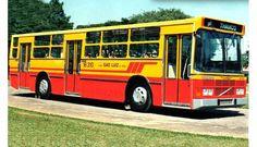 Volvo B58 com carroceria padron de três portas construído para a Empresa São Luiz Viação, de São Paulo (SP). Nostalgia, Buses And Trains, Busa, Volvo, Vehicles, Cord Automobile, Tractors, Astronomy, Advertising