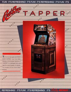 Root Beer Tapper, found on Midway Arcade Origins on PS3 and X360
