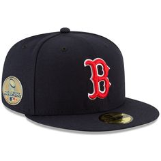 Men s Boston Red Sox New Era Navy 2018 World Series Champions Sidepatch  59FIFTY Fitted Hat 04bdcaa0999