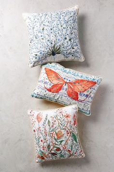 Humming Meadow Pillow - anthropologie.com #anthrofave