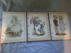 Holly Hobbie Three Note Books Theme Books American Greetings | eBay