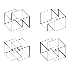 JOSEF ALBERS  STRUCTURAL CONSTELLATIONS, 1950s  …peter eisenman is such a copycat