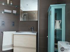 baño colores Vanity, Cabinet, Bathroom, Storage, Furniture, Home Decor, Scandinavian Design, Interiors, Colors
