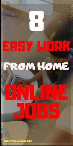 Here we have a list of the 8 best work from home jobs available online, we strive to give you scam-free companies offering work from home jobs and extra money opportunities. Online Writing Jobs, Online Jobs, Online Work From Home, Work From Home Moms, Way To Make Money, Make Money Online, Online Earning, Online Marketing Strategies, Affiliate Marketing