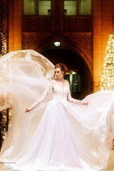 Haute Couture Color Wedding Gown (#Alsatia)