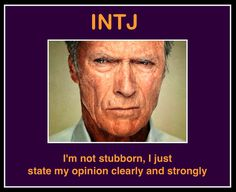 INTJ ( I am not, however, like Mr. Empty Chair pictured on this post!)