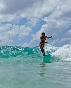 show off - Kelia Moniz at the #ROXYpro Gold Coast having some fun in her #POPsurf   See more http://www.roxy.com/progoldcoast