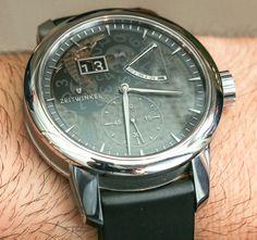 Zeitwinkel Saphir Fumé Watch Hands-On Stylish Watches, Luxury Watches, Cool Watches, Men's Watches, Most Popular Watches, Best Watches For Men, Watch Blog, High End Watches, Mechanical Watch