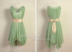 vestido de mujer de nuevo de gasa plus size xl xxl xxxl verde azul blanco 8 2014 color popular fiesta de