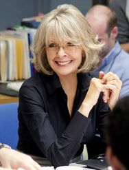 Diane Keaton, actress, in 'Morning Glory' stills, at age sixty-three
