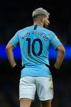 Sergio Aguero of Manchester City during the Premier League match between Manchester City and Arsenal FC at Etihad Stadium on February 2019 in Manchester, United Kingdom. Get premium, high resolution news photos at Getty Images Girls Playing Football, Soccer Guys, Football Players, Premier League News, Premier League Champions, Premier League Matches, Manchester England, Manchester United, Manchester City Wallpaper