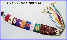 Santeria Yoruba Decorated  FLAMBOYAN  Tree  Pod by tiendaAmerican, $29.99