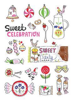Flow Magazine - Magazine for paper lovers Notebook Doodles, Soul Design, Sketch Journal, Food Drawing, Food Illustrations, Line Art, Illustrator, Artsy, Pure Products