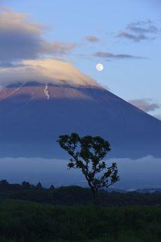 """""""Moon Serenade"""", Mount Fuji, Japan"""