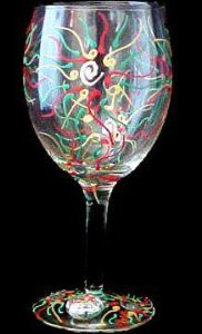Regal Poinsettia Design Hand Painted Grande Wine Glass by Bellissimo. $34.95. Bellissimo! is the manufacturer of America's Premier Hand Painted Glassware.. For generations of pleasure and enjoyment, hand washing is recommended for all Bellissimo! merchandise.. All Bellissimo! merchandise is exquisitely hand painted using an exclusively formulated non-toxic paint.. Highly collectible, each piece of Bellissimo! is individually signed by the artist.. Every product is tho...