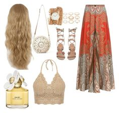 Boho chic by natjarv on Polyvore featuring polyvore, mode, style, VC Signature, Aranáz, ZALORA, Forever 21 and Marc Jacobs