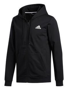 Adidas Plus Size Full Zip Hoodie in Black Oakley, Under Armour, En Stock, Basic Style, Tie Knots, Full Zip Hoodie, Shorts, Sock Shoes, Body