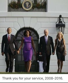 President Barack Obama, First Lady Michelle Obama, Vice President Joe Biden and Dr.