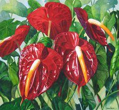 22 Watercolor Floral Paintings By Artist Karen Sioson