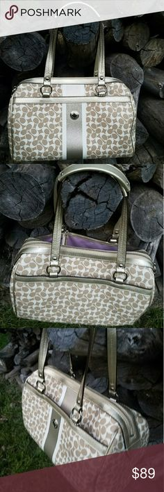 Authentic coach bag In excellent good condition coach bag. Super clean and fairly looks pretty new. Coach Bags Satchels