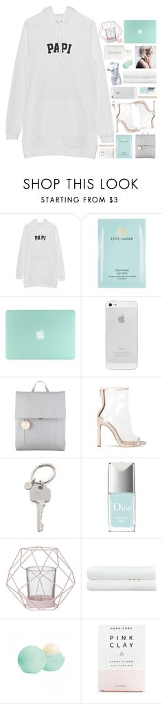 """""""y dime que me amas aunque sea mentira"""" by fxrever-isnt-for-everyone ❤ liked on Polyvore featuring Estée Lauder, Radley, Paul Smith, Christian Dior, Bloomingville, Linum Home Textiles, Eos and Herbivore"""