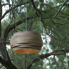 Walnut Light Cloud, Back to nature. Photo - Benji Cohen  #vayehistudio #woodworking #woodwork #handmade #artandcraft #makers #productdesign #designinspiration #interior #homewares #designer #interiordesign #designers #homedecor #homestyling #light #lighthouse #lighting #interiordesign #instadesing #lightdesign #designstudio #עיצובפנים  #אדריכלות  #בלוגעיצובפנים #גלריה #רהיטי_יוקרה #עיצובישראלי #גופיתאורה #עבודתיד    #Regram via @studio_vayehi Metal Ceiling, Ceiling Lamp, Ceiling Lights, Pendant Lamp, Pendant Lighting, Cloud Lamp, Organic Structure, Back To Nature, Compact Fluorescent Bulbs