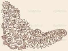 Google Image Result for http://static7.depositphotos.com/1008054/789/v/950/depositphotos_7897936-Henna-Mehndi-Pasiley-Flowers-Doodles-Vector.jpg