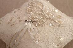Beautiful wedding pillow