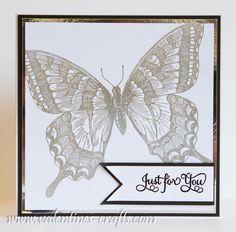 Stampin up card - swallowtail