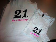Em's 21st Birthday Shirts
