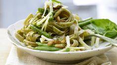 Rezept: Grüne-Bohnen-Pasta