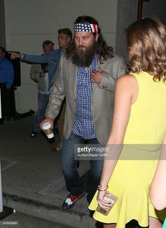 Willie Robertson and Sadie Robertson are seen at Craig's restaurant in Hollywood…