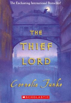 The Thief Lord by Cornelia Funke - I originally thought it would be a story about a gang of orphans finding a forever home. I was wrong! Ties up a little easily at the ending but this is indeed a book for children so totally acceptable!