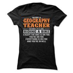 BEING A GEOGRAPHY TEACHER T SHIRTS - #checkered shirt #tshirt feminina. LOWEST PRICE => https://www.sunfrog.com/Geek-Tech/BEING-A-GEOGRAPHY-TEACHER-T-SHIRTS-Ladies.html?68278