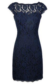 Time and Lace Pencil Dress in Navy https://www.lilyboutique.com Click on Visit Site to Find Out More