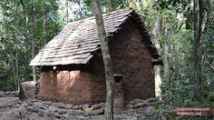Watch this step by step guide on building a rigid shelter within a couple hours. This tiled roof hut was built from scratch using only what Mother Nature has provided for him. #survival #primitivetechnology